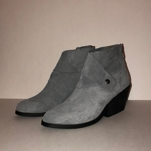 Eileen Fisher Tag Suede Boots